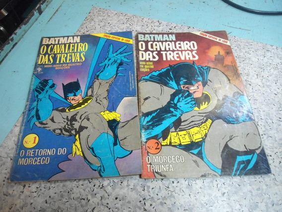 Quadrinhos - Mini Série Batman O Cavaleiro Das Trevas 1 E 2