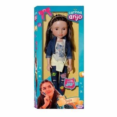 Boneca Maísa Juju Carinha De Anjo 45cm Baby Brink