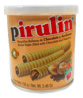 Barquillas Pirulin Choco/avellana X 155gr