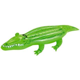 Boia Inflável Crocodilo 1,68x0,89cm Com Alças