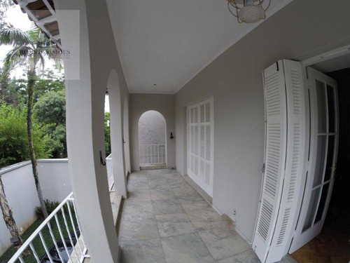 Imagem 1 de 10 de Sobrado Para Alugar Jardim Paulista, 4 Dormitórios, Sendo 3 Suítes, 450 M² - São Paulo/sp - So0231