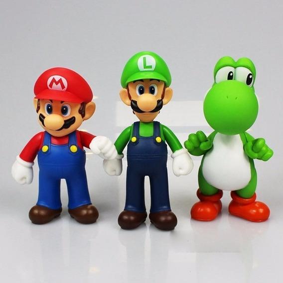Kit Mário Bros Collection Nintendo Promoção