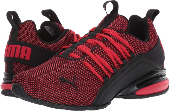 Puma Axelion Mesh High Risk Red - Puma Black 192488 03