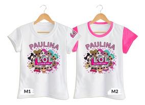 Camiseta Camisa Niña Lol Surprise L.o.l. Personalizada Polie