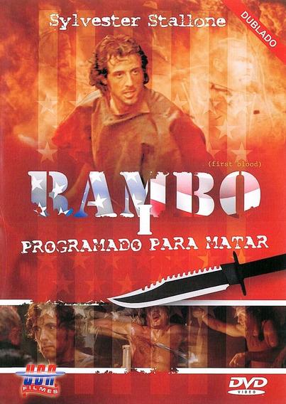 Dvd Trilogia Rambo Volumes 1,2 E 3 Novo Original