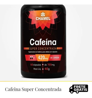 Cafeina Suplemento Composto Super Concentrado 420 Mg