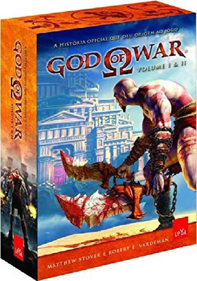 Box Com 2 Livro God Of War - Vol. 1 E 2 - Pronta Entrega