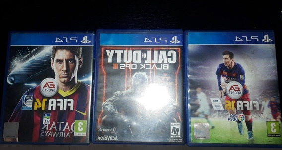 Jogos Ps4 Call Of Duty Fifa 14 Fifa 16 Originais
