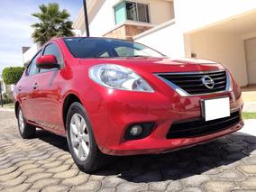 Impecable Automovil Nissan Versa Advance Automatico 2013