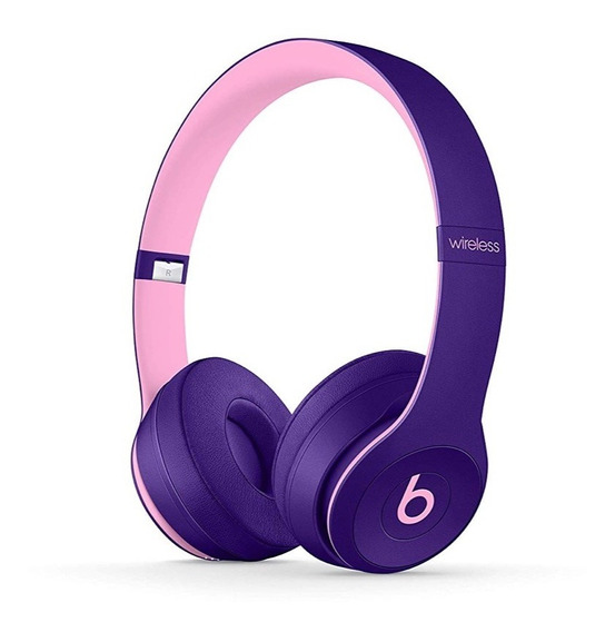 Fone Beats Solo 3 Wireless Pop Violet Pop Collection