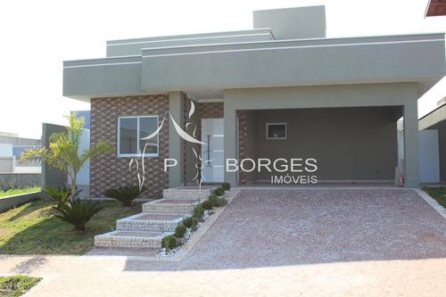 Casa À Venda Em Condomínio Terras Do Cancioneiro - Ca000984