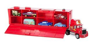 Rayo Mcqueen, Disney Pixar Cars 3, Camión Mack Con Autos.