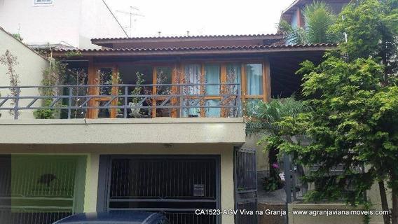 Casa Residencial À Venda, Vila Velha, Carapicuíba. - Ca1523