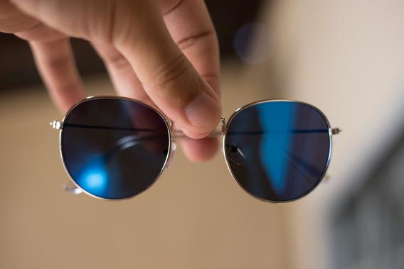 Óculos De Sol Retro Vintage Moda Espelhado