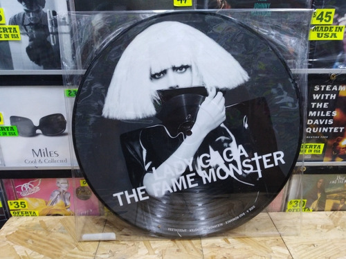 Lady Gaga The Fame Monster Lp Picture Disc (central Vinilo)