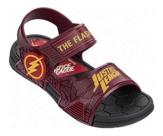 Sandalias Flash Liga De La Justicia Marvel Fty Calzados