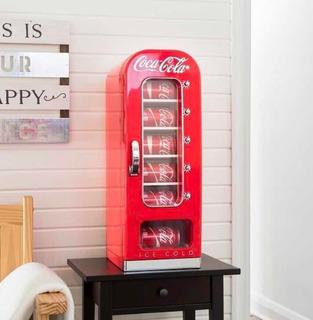 Mini Cooler Refrigerante Coca Cola Retrô 10 Latas