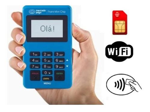 Imagem 1 de 5 de Maquina De Cartão Mini Chip - Chip Grátis + Wifii