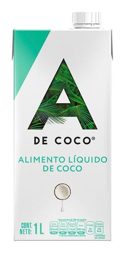 Imagen 1 de 1 de Alimento Líquido De Coco A De Coco 1litro