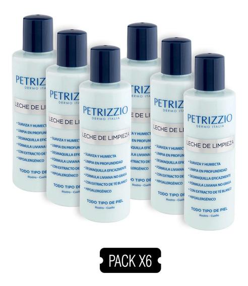 Leche Limpieza Petrizzio Pack 6