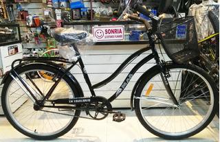 Bicicleta De Paseo Dama Mao Malen Full Rod 26