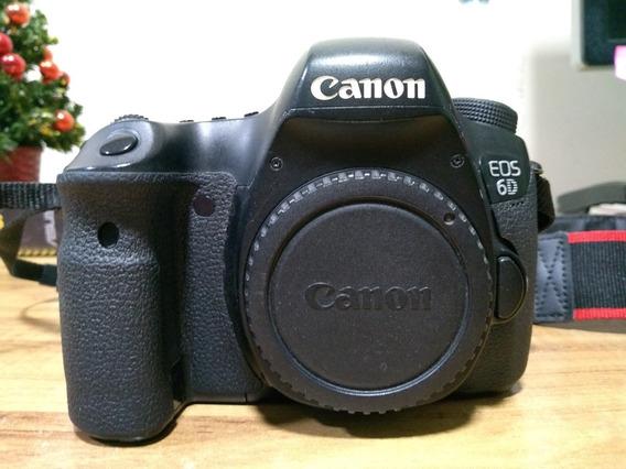 Canon 6d + Carregador E Bateria