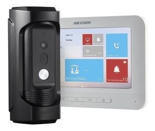 Video Portero Ip Antivandalico Hikvision Monitor Wifi+tactil