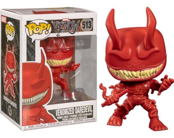 Juguete De Colección Marvel, Venomized Daredevil, Pop #513.