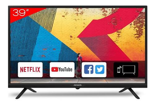 Imagen 1 de 2 de Televisor Smart Tv 39  Aiwa Netflix Youtube Hd Aw39b4sm