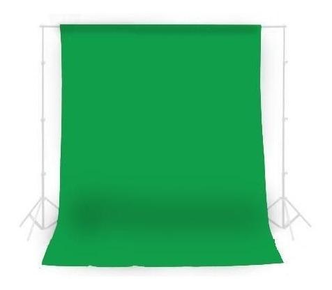 Fundo Infinito Em Tecido Oxford Verde Chroma Key Para Video