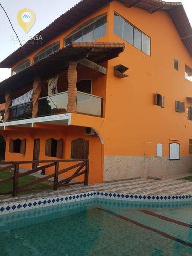 Imagem 1 de 15 de Excelente Casa Em Lagoa De Carapebus - Ca0288