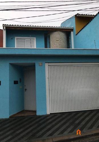 Sobrado Com 3 Dormitórios À Venda, 200 M² Por R$ 960.000 - Paulicéia - São Bernardo Do Campo/sp - So0070