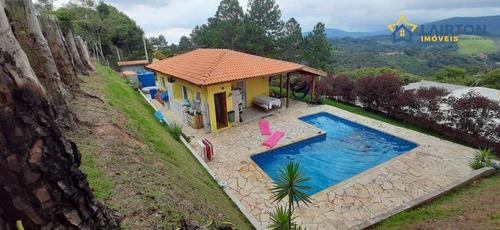 Chácara Com 2 Dormitórios À Venda, 700 M² Por R$ 480.000 - Estância Santa Maria Do Portão - Atibaia/sp - Ch1407