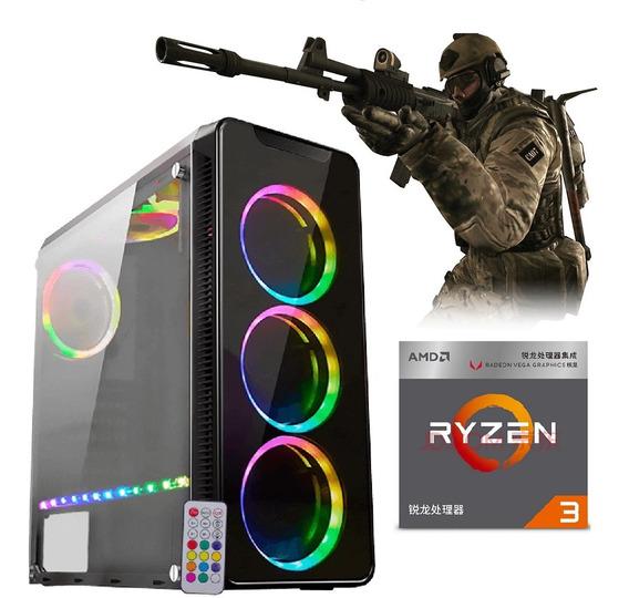 Pc Gamer Ryzen3 2200g Vega Granphis8 8gb Ram Hd1tb Ofertaço
