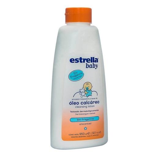 Oleo Calcareo Estrella Baby Para Bebes Sin Fragancia X 950ml