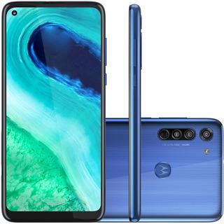 Celular Motorola Moto G8 Azul 4gb 64gb 6.4 Camera Tripla