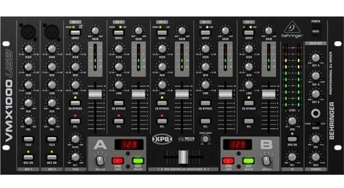 Super Promoção Mixer Dj Behringer Vmx1000usb Garantia 2 Anos