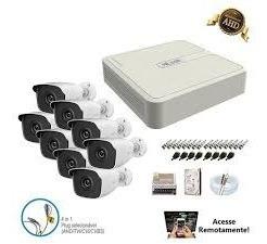Kit Cameras Monitoramento Hilook