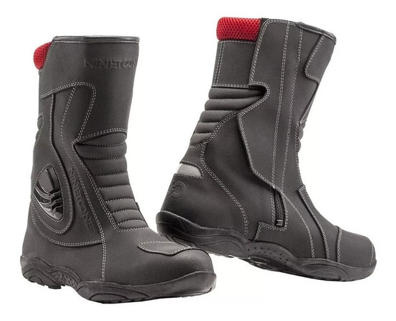 Botas Moto Nine To One Storm Cuero Maldonado Motos