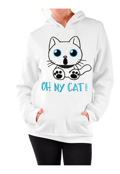 Sudadera Gato Oh My Cat!! Unisex Adulto