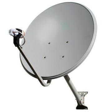 Antena 60cm Ku C/ Lnb Duplo Universal (sem Logo)