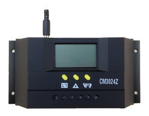 Controlador De Carga Para Painel Solar 30a 12e24v