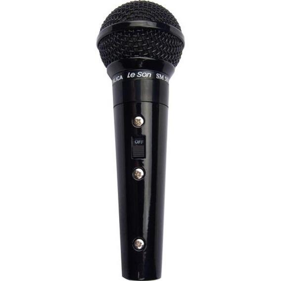 Microfone Profissional Com Fio Unidirecional Cardióide Leson