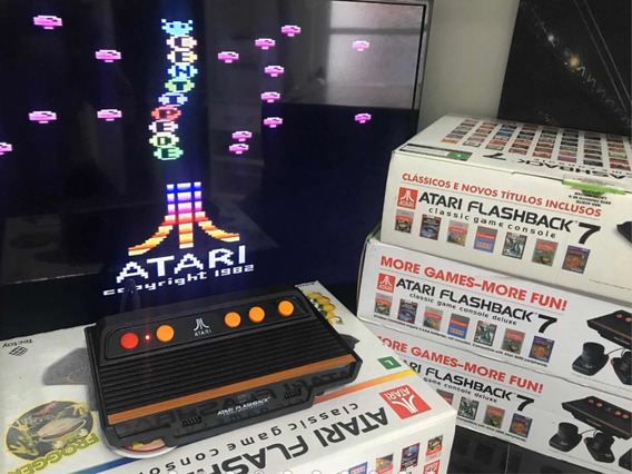 Videogame Atari Flashback 07 C/ 101 Jogos Sem Os Controles