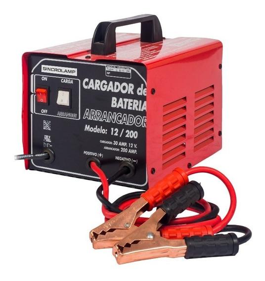 Cargador Arrancador De Baterias Sincrolamp Cb200 / Portatil