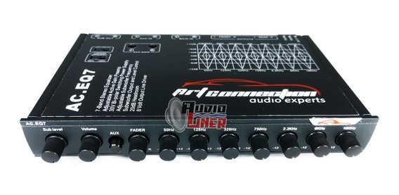Ecualizador Artconnection Ac.eq7 7 Bandas