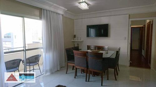 Imagem 1 de 30 de Apartamento Com 4 Dormitórios À Venda, 114 M² Por R$ 740.000 - Tatuapé - São Paulo/sp - Ap5955