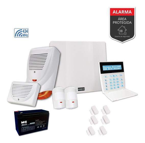 Alarma Para Casa O Comercio Sensor Magnético Kit-inalámbrico