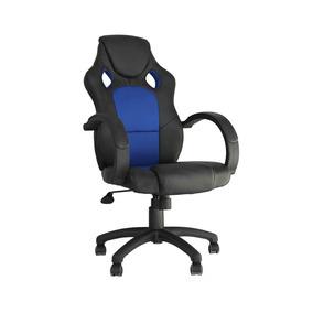 Cadeira Gamer Giratória Reclinável C/ Regulagem Altura Relax
