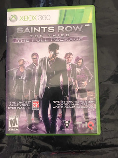 Saints Row (the Third) The Full Package, Xbox 360.